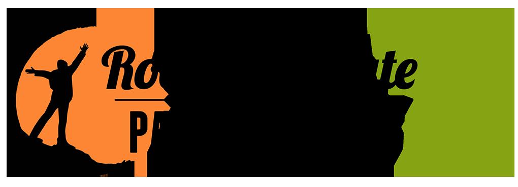 Rock the Route - Pangea Trails Logo