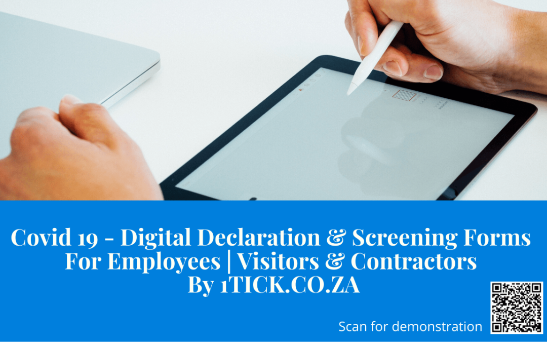 Get your COVID-19 Digital Screening Form For Employees and Suppliers [template included]