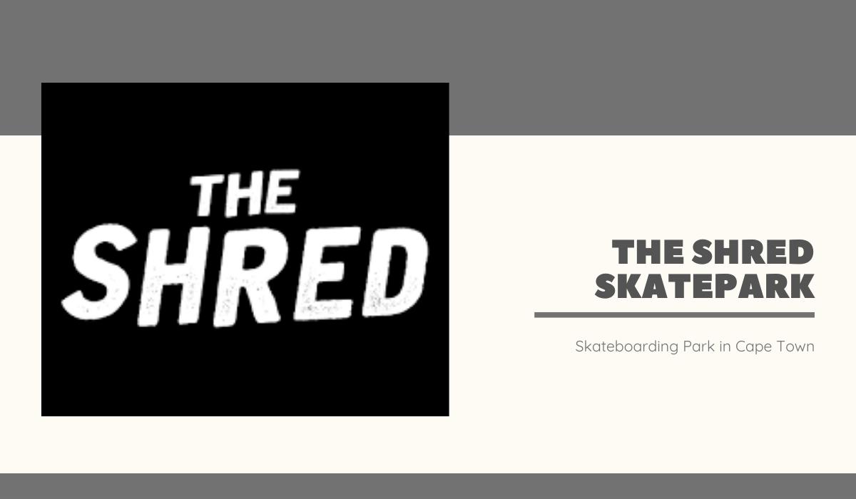 The Shred logo - web